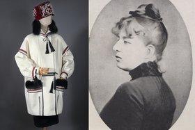 Платье 1925 года и дизайнер — Надежда Ламанова