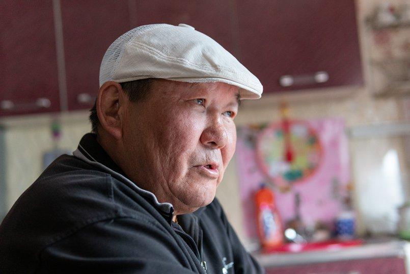 Пенсионер Олег Матяев