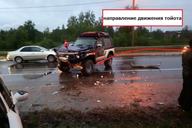 ДТП на 1703 километре дороги Р-255 «Сибирь»