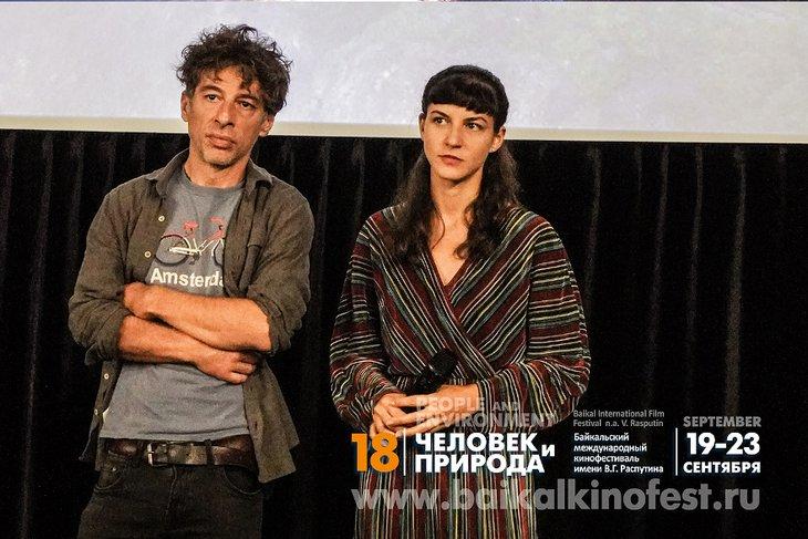Любомир Стефанов и Тамара Котевска. Фото пресс-службы кинофестиваля