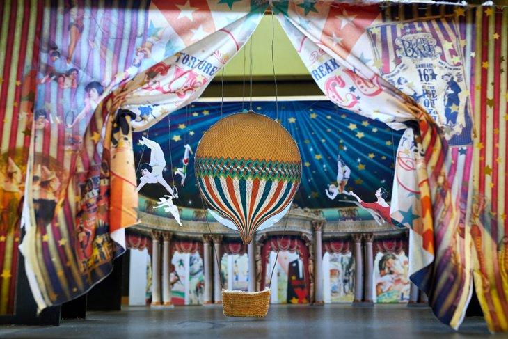 Декорации спектакля «Принцесса цирка»