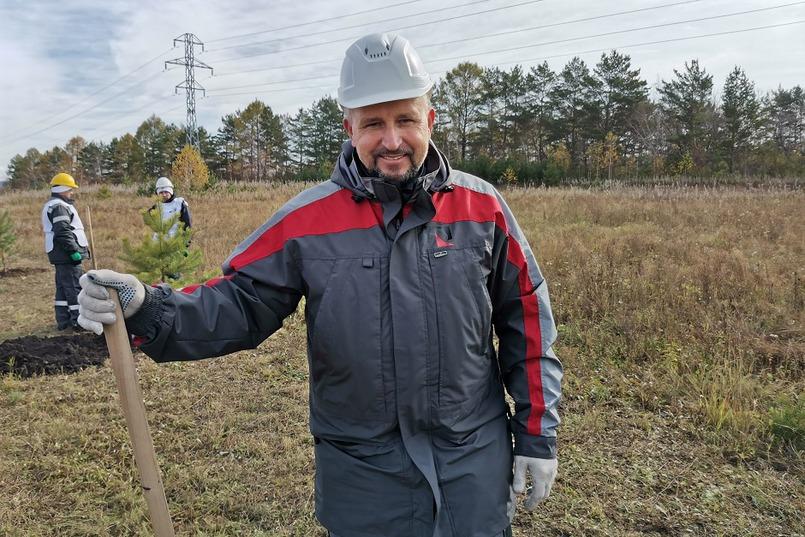 Алексей Тенигин, директор по экологии Иркутского алюминиевого завода
