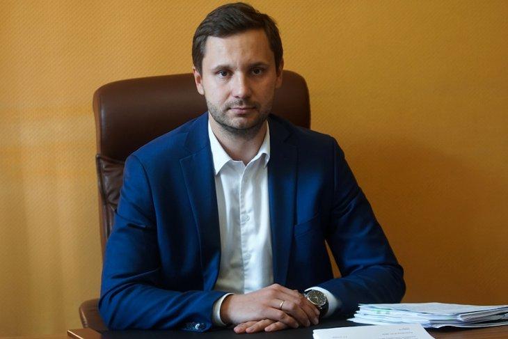 Андрей Фоменко. Фото пресс-службы правительства Иркутской области