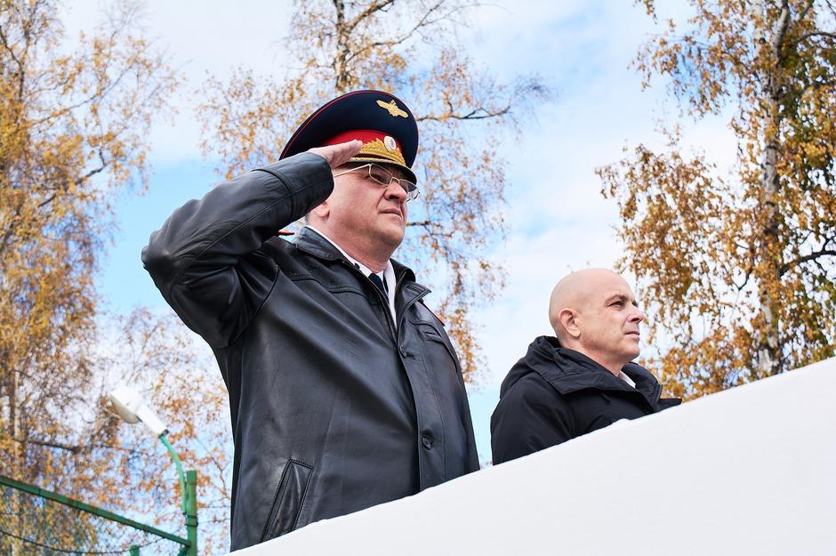 Руководитель СУ СКР по Иркутской области Андрей Бунев и председатель заксобрания Иркутской области Сергей Сокол