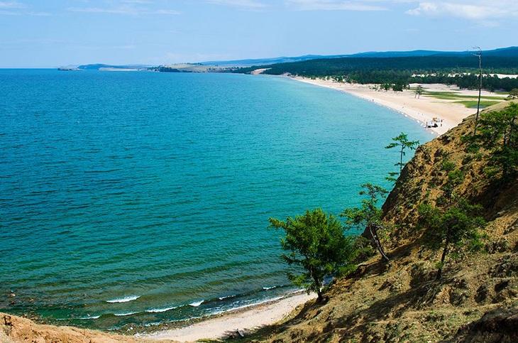 Сарайский пляж. Фото с сайта про-байкал.рф