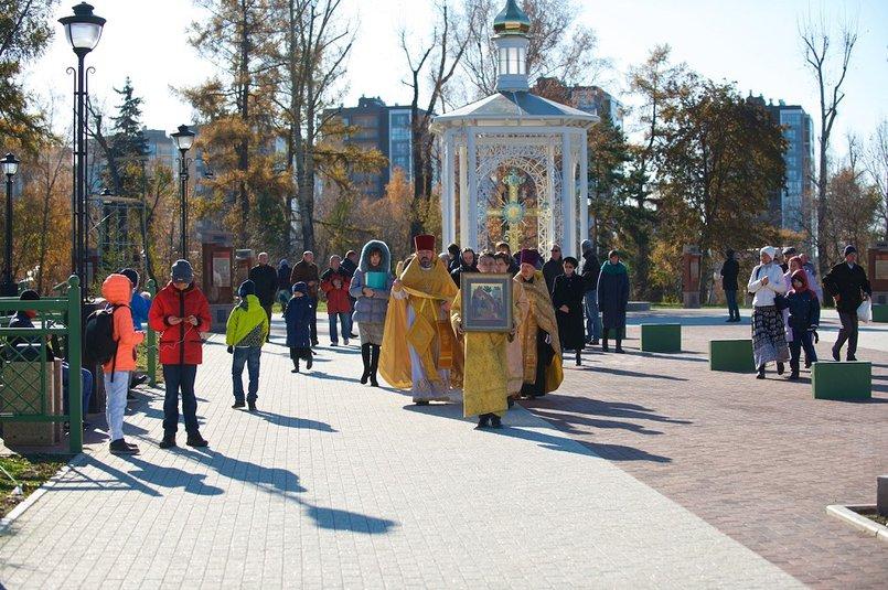 Освящение часовни. Фото с сайта ierusalimka.ru