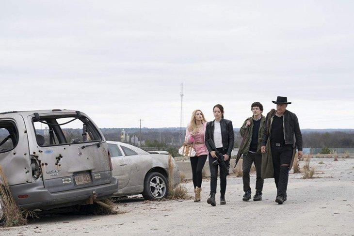 Уже и в 2009-м создатели «Zомбилэнда» не скрывали, что вдохновлялись блестящим английским фильмом «Зомби по имени Шон» (2004)