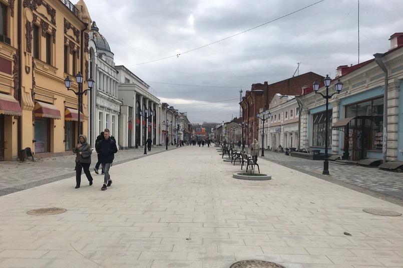 Обновленная улица Урицкого. Фото IRK.ru
