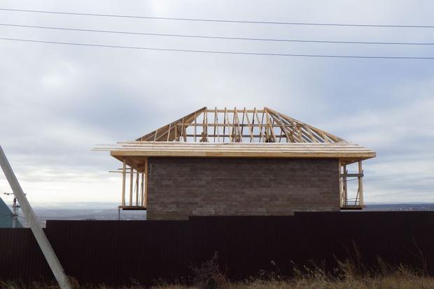 Первый этап успешно завершен — основная  часть дома с жилыми помещениями построена