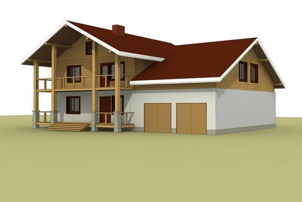 Проект дома Аксеновых