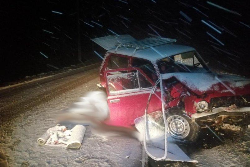 ДТП на автодороге Иркутск — Большое Голоустное