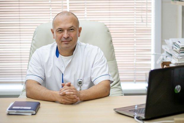 Главный врач клиники Александр Чуприн