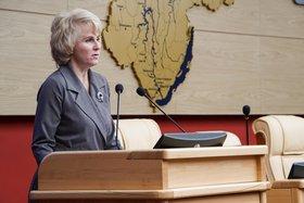 Наталия Бояринова. Фото пресс-службы правительства Иркутской области
