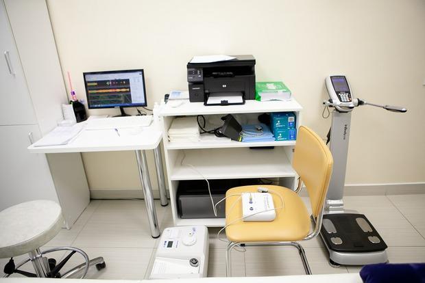 В этом кабинете специалисты клиники составляют цифровой портрет