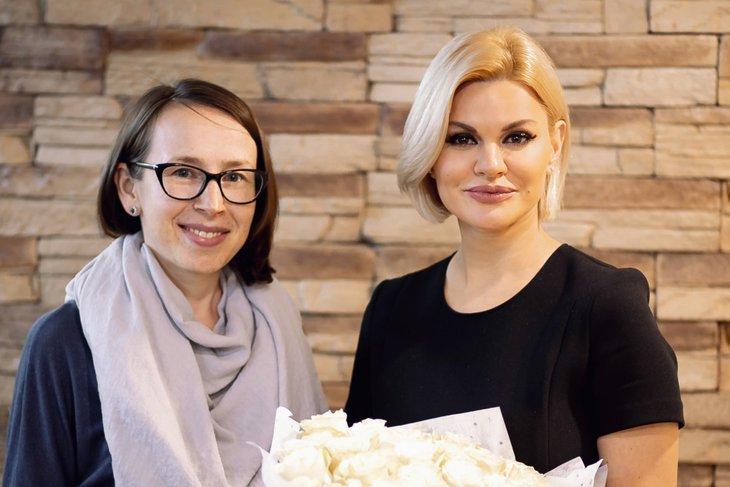 Главный редактор IRK.ru Светлана Павлова и Ирина Круг