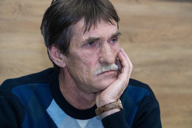 Сергей Щукин, житель посёлка Вознесенский