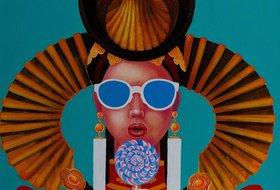 Выставка монгольского художника Заи Самбуу Lost kiss*