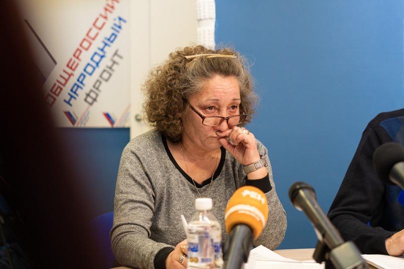 Елена Васина, жительница посёлка Вознесенский