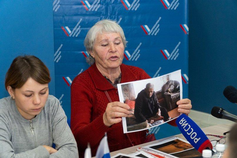 Любовь Дунцова, жительница деревни Аршан