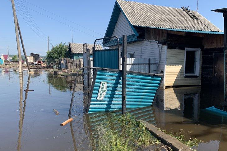 Наводнение в Тулуне. Фото — IRK.ru