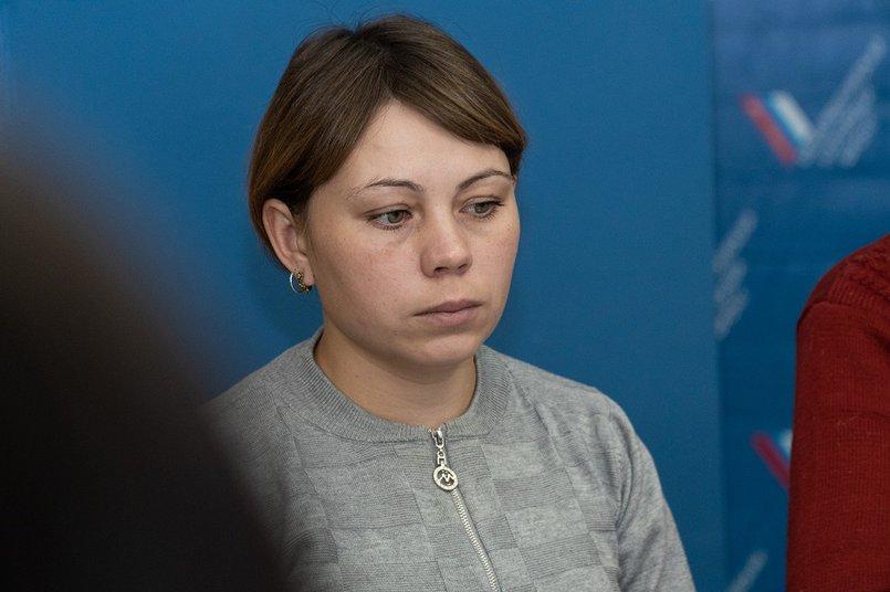 Анастасия Гафитулина, жительница поселка Соляная