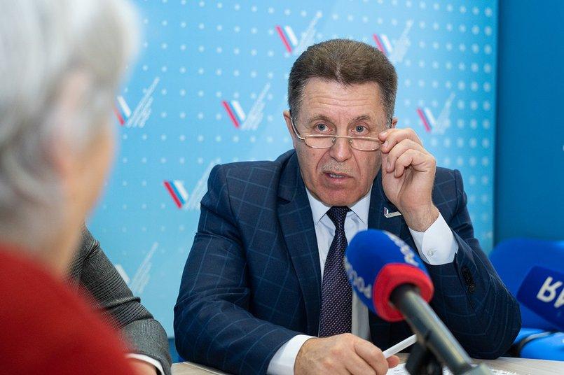 Сергей Апанович, сопредседатель регионального штаба ОНФ в Иркутской области