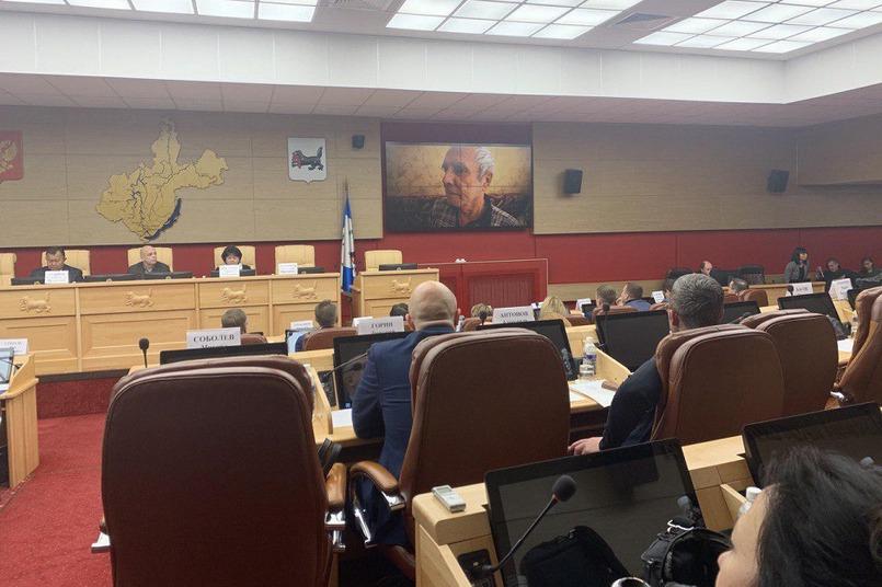 Заседание заксобрания 13 ноября. Фото Ксении Хабибулиной