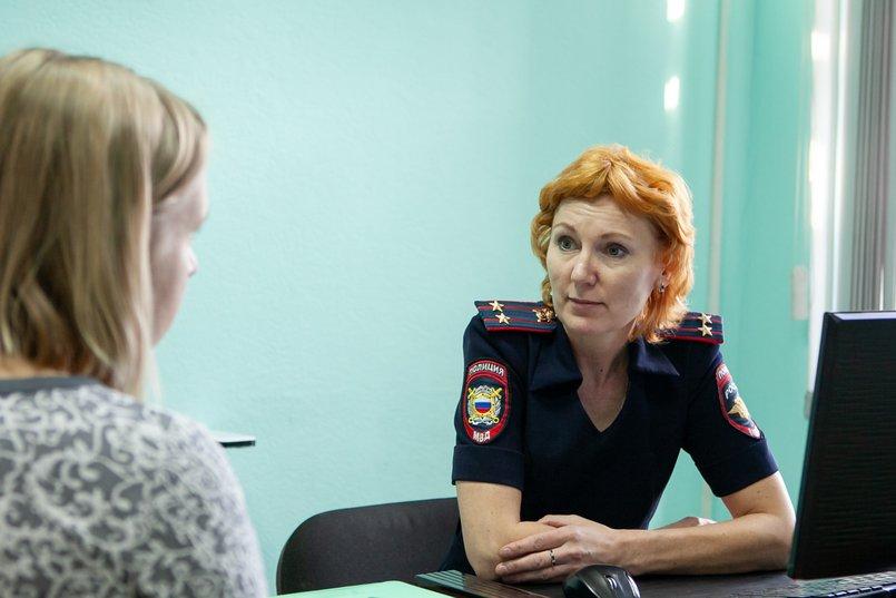 Подполковник полиции Елена Ковтун