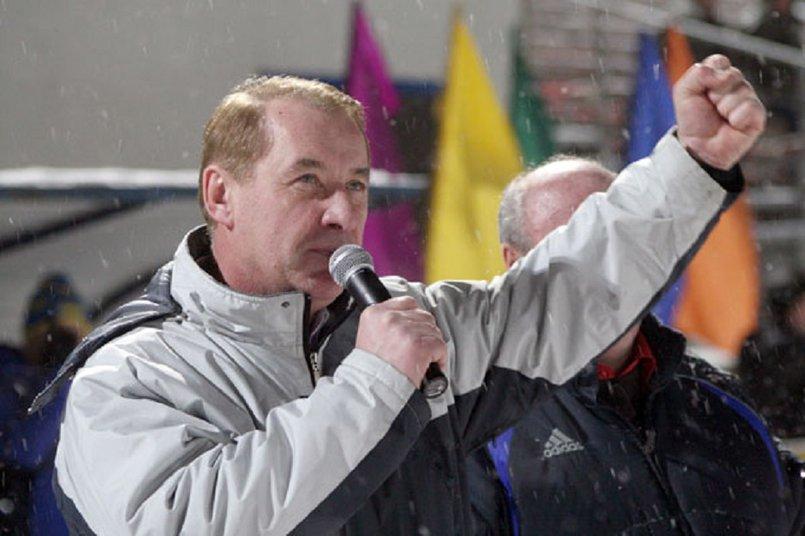 Владимир Матиенко, президент Федерации хоккея с мячом в Иркутской области