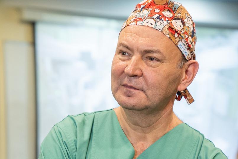 Руководитель Центра хирургии и реанимации новорожденных ИМДКБ, профессор Юрий Козлов