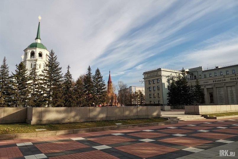 Площадь у мемориала «Вечный огонь»