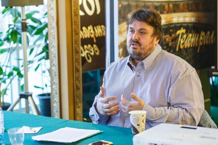 Павел Руднев. Фото пресс-службы Иркутского драматического театра