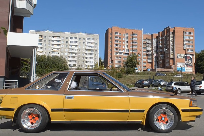 Цвет автомобиля привлекает внимание