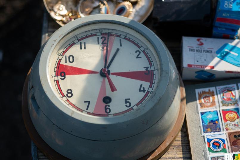 Судовые часы с самодельным заводом