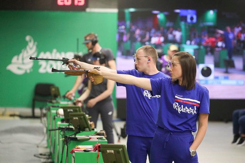 Артем и Маргарита на вторых Европейских играх в Минске