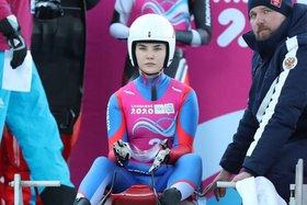 Диана Логинова. Фото пресс-службы минспорта Иркутской области