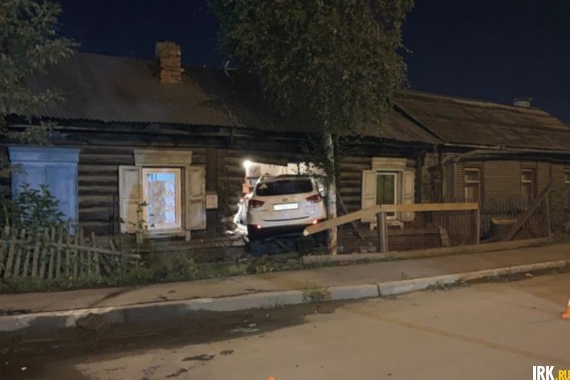 В сентябре прошлого года в дом Надежды Владимировны выехал пьяный водитель