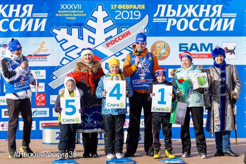 Победители «Лыжни России» в 2019 году в детской категории