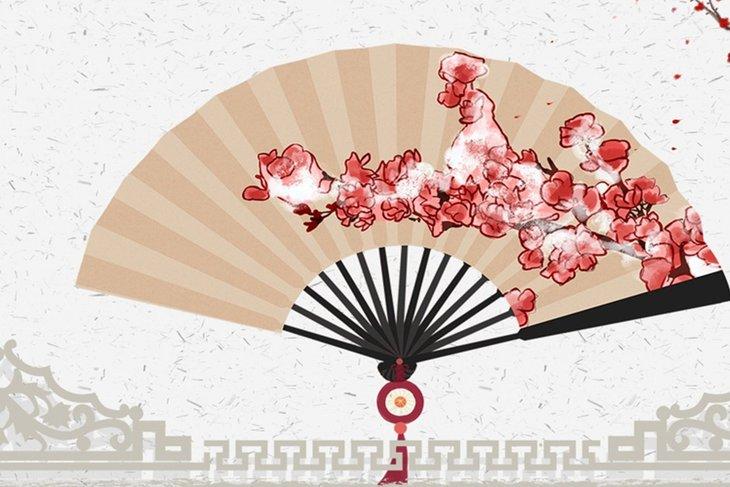 Китайский веер. Фото предоставлено сотрудниками музея