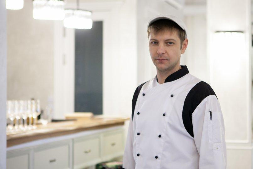 Дмитрий Мужеляк, шеф-повар ресторана «Реновацио»