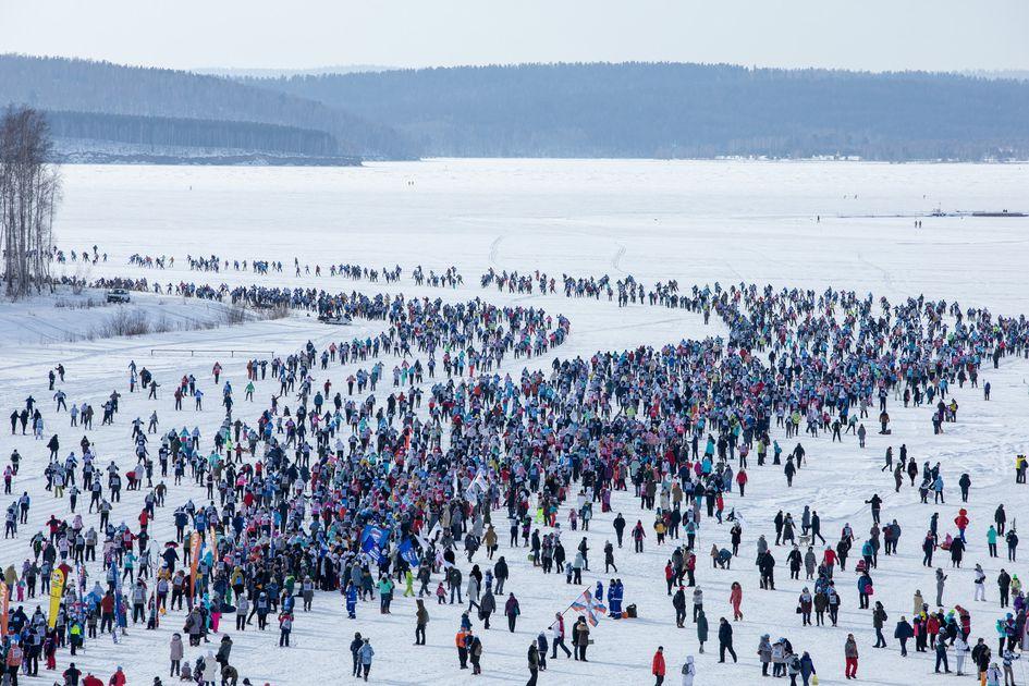 «Лыжня России-2020»: массовый забег состоялся в Иркутске