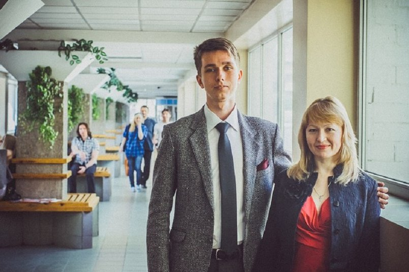 С преподавателем зарубежной литературы Натальей Шестаковой
