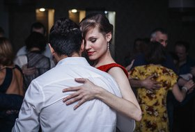 Танго-практика в танцевальном клубе «Небо»