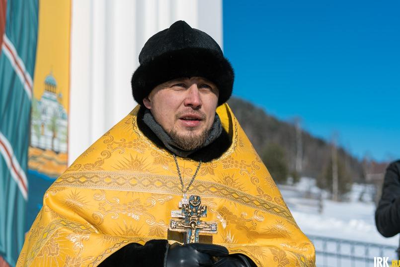 Клирик Свято-Никольского храма, священник Даниил Рудь