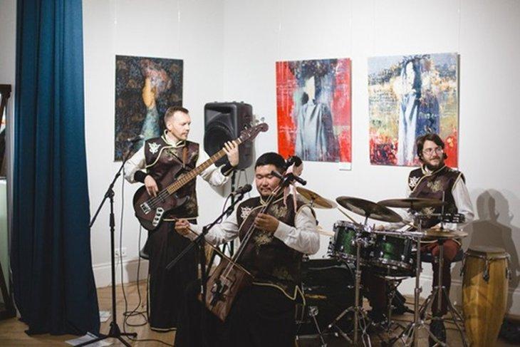 Группа «Шоно». Фото предоставлено пресс-службой галереи Виктора Бронштейна