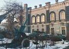 Военная техника возле Дома офицеров в Иркутске. Фото Алины Вовчек, IRK.ru