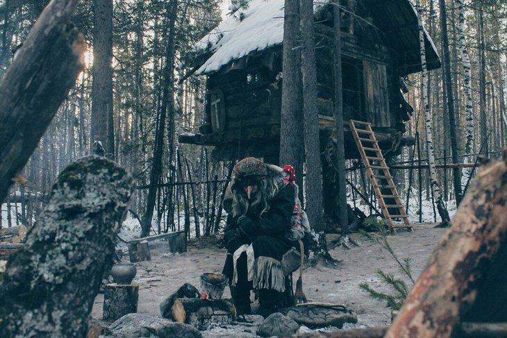 Баба-Яга Светлоярская. Фото предоставлено сотрудниками парка отдыха «Лес чудес»