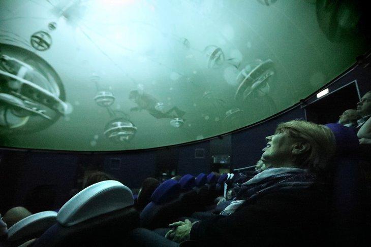Иркутский планетарий. Фото предоставлено пресс-службой