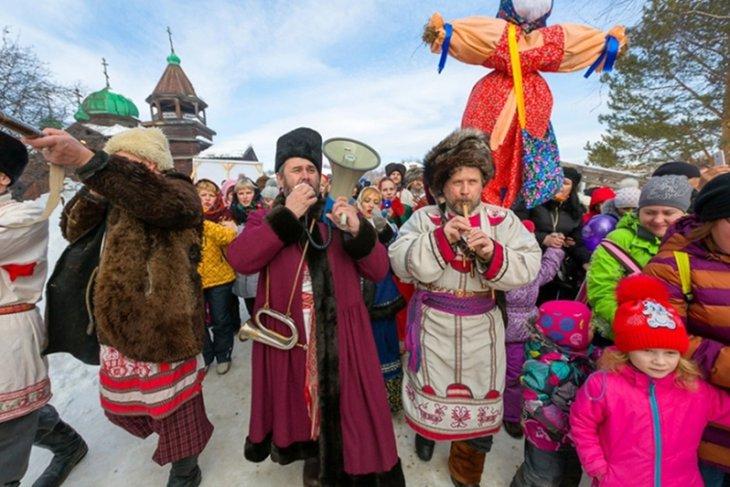 Празднование Масленицы в «Тальцах». Фото с сайта www.talci-irkutsk.ru