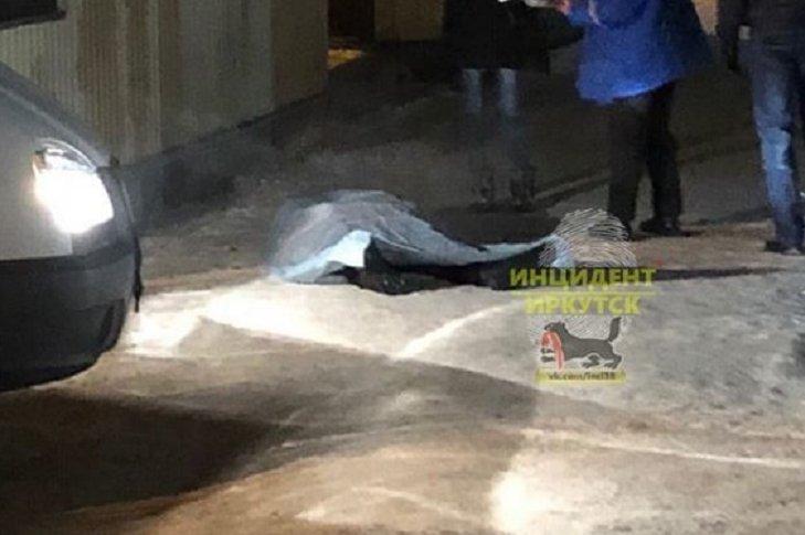 На месте происшествия. Фото из группы «Инцидент Иркутск»